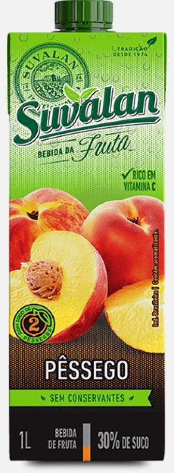 Bebida da Fruta-Pêssego